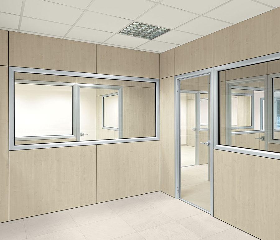 Arredamento uffici e negozi forl for Pareti divisorie ufficio economiche